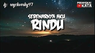 RINDU!! STORY WA KEREN 2019 #123