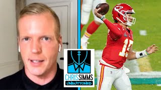 Who has a stronger arm: Patrick Mahomes or Josh Allen? | Chris Simms Unbuttoned | NBC Sports