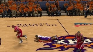 NBA 2K12 My Player Playoffs QFG4 - Trash Talking Aaron Brooks