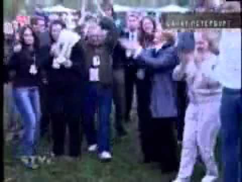Путина танцует под Ленинград