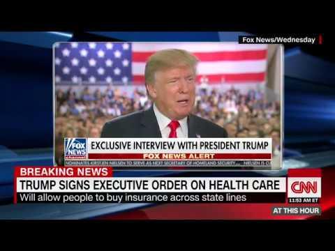 Trump makes false claim on stock market, debt