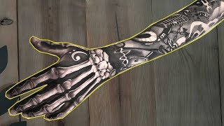 Tattoo Timelapse - The Best Free Handed Hand Tattoo With The Epic Sleeve Done