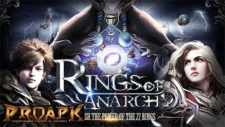 Rings of Anarchy Gameplay Android / iOS (Open World MMORPG)