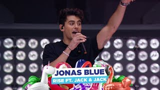 Jonas Blue   'Rise Feat Jack & Jack' (live At Capital's Summertime Ball 2018)