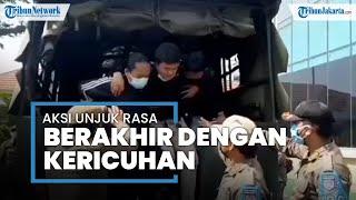 Demo di Pemkot Tangsel Berlangsung Ricuh, Para Peserta Demo Digelandang ke Kantor Polisi