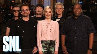 Saoirse Ronan & U2 Can't Understand Kenan Thompson - SNL
