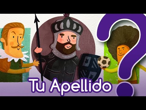 Test Sobre El Origen De Los Apellidos En Español