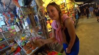 ПАТТАЙЯ.Любимое место туристов - НОЧНОЙ РЫНОК еды. Night Market Jomtien. Цены на Еду 2018