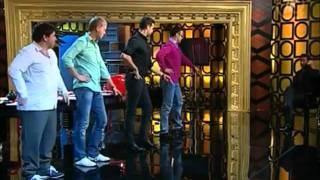 Танец Хью Джекмана в ПрожекторПерисХилтон (24.09.2011)