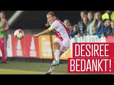 Desiree van Lunteren verlaat Ajax