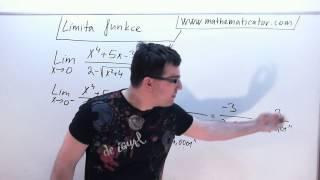 Limita funkce - Typ konstanta lomeno nulou - Limita zleva a zprava 6. 11. 2014