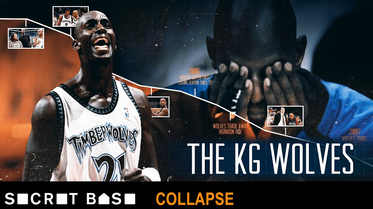 How the Minnesota Timberwolves squandered Kevin Garnett's prime, then lost him thumbnail