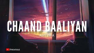 Chaand Baaliyan - Aditya A (Lyrics) | THE LOST   - YouTube