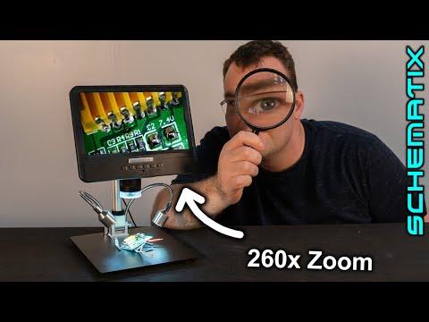 Microscope numérique portable Andonstar AD208 8,5 '' 1080P