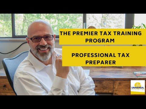 The Premier Tax Training Program - Professional Tax Preparer ...
