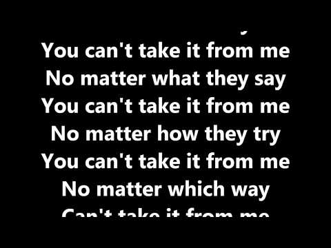 Major Lazer - Can't Take It From Me (ft. Skip Marley) Lyrics - Lyrics Lyrics