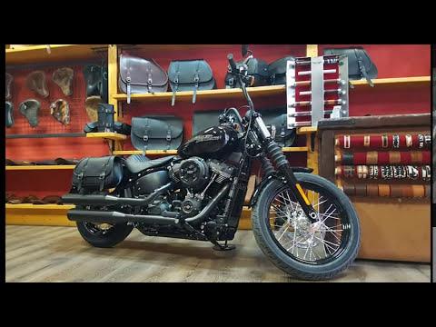 saddle bag right side for hd new 2018 2019 softail street. Black Bedroom Furniture Sets. Home Design Ideas