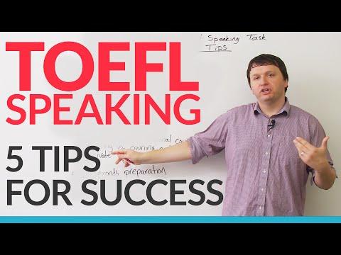 TOEFL iBT: Independent Speaking Task - 5 Ways to Succeed