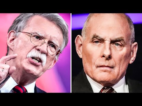 John Kelly & John Bolton Have Profane Shouting Match Outside Oval Office
