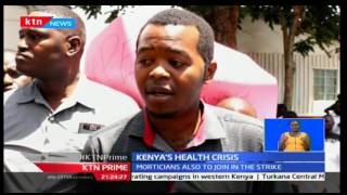 Kenya Health Professionals Society begin picketing as they join doctors in strike
