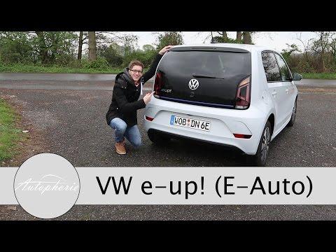 2017 Volkswagen e-up! Test / 60kW Stadt-Elektro-Auto im Alltagstest - Autophorie