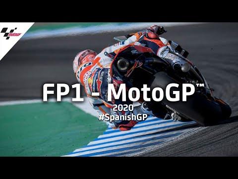 MotoGP スペインGP FP1 ハイライト動画