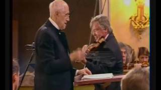 Tretyakov & Rostropovich - Shostakovich 1st Violin Concerto
