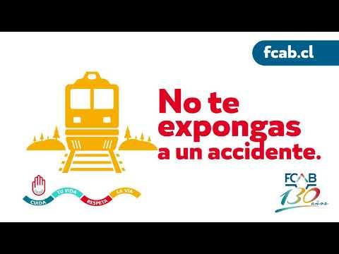 Sabías que la vía férrea es para el tránsito exclusivo del tren?