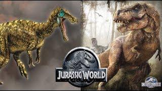 Download Youtube: Will Rexy Kill The Baryonyx? | Jurassic World Fallen Kingdom - Dino battle