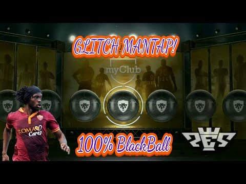 Video TRIK BLACK BALL GLITCH PES 2017 (Android)