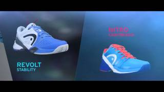 Head Revolt Pro Men's Tennis Shoes video