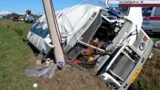 ДТП с пассажирским автобусом в Тольятти: 4 пострадавших, 1 погибший