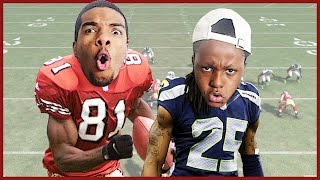 TERRELL OWENS OR RICHARD SHERMAN! WHO'S BETTER? - User Skills Challenge Ep.7