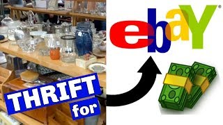 Best Items from Thrift to Flip on Ebay for Profit - THRIFT FOR RESALE - Thrift Store Finds to Resell