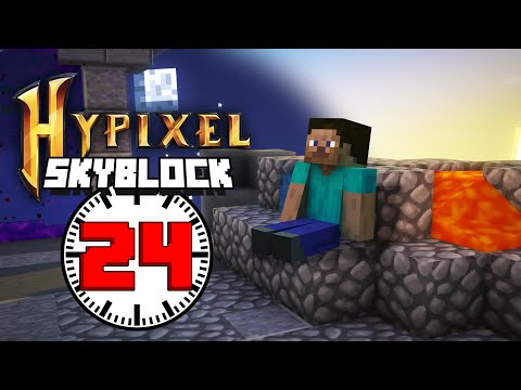 i played Hypixel Skyblock for 24 hours    - F1NN5TER