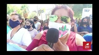 Acompañamos a los docentes de San Juan en la marcha en reclamo de mejores condiciones laborales