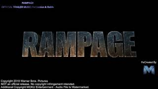 Gambar cover RAMPAGE Trailer Version Music 2018   nice Movie Soundtrack Proper with loc songs