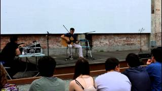 Evan Pacheco at Providence Hoot Part 1 (Grant's Block 6-8-2014)