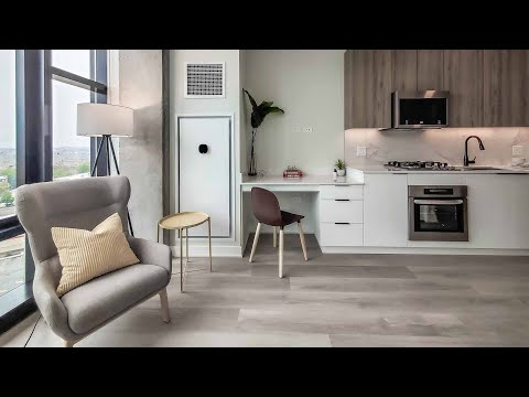 Tour an -01 studio model at River West's new Avenir apartments
