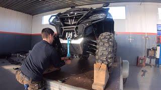 Rebuilding 2020 Cf Moto 850xc