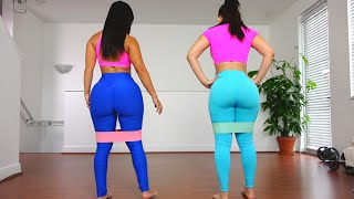 Big Butt Workout with Booty Bands!!! (Grow The Glutes Workout)