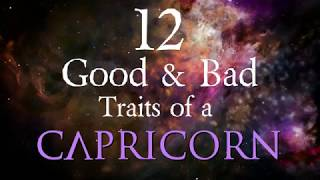12 Good And Bad Traits Of A Capricorn 2019