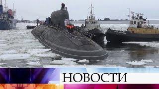 Для Военно-морского флота РФ в 2019 году будут построены 4 подводные лодки и 7 боевых кораблей.