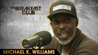 Michael K. Williams Interview With The Breakfast Club (9-1-16)
