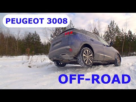 2017 Peugeot 3008 2.0 BlueHDi 180, off-road