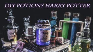 DIY Potions Harry Potter (tuto, Astuce, Effet Métallisé...)