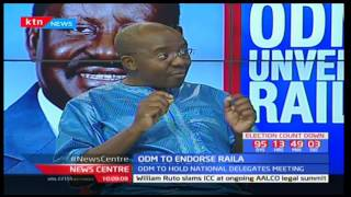 News Centre - 4th May 2017 - ODM Party to endorse Raila Odinga