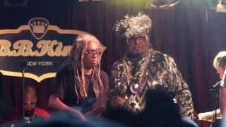 George Clinton & P-Funk, Super Stupid, BB King Blues Club, NYC 2-28-17