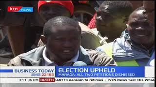 Bungoma residents react to Supreme Court upholding of Uhuru Kenyatta's presidency