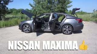 2018 Nissan Maxima SV // Full Review and Test Drive